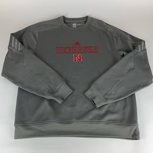 Nebraska Cornhuskers Adidas Climawarm Sweatshirt